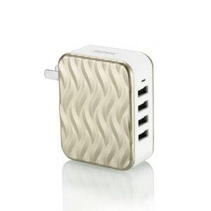 USB CHARGER WAVE 4 PORTS RP-U41